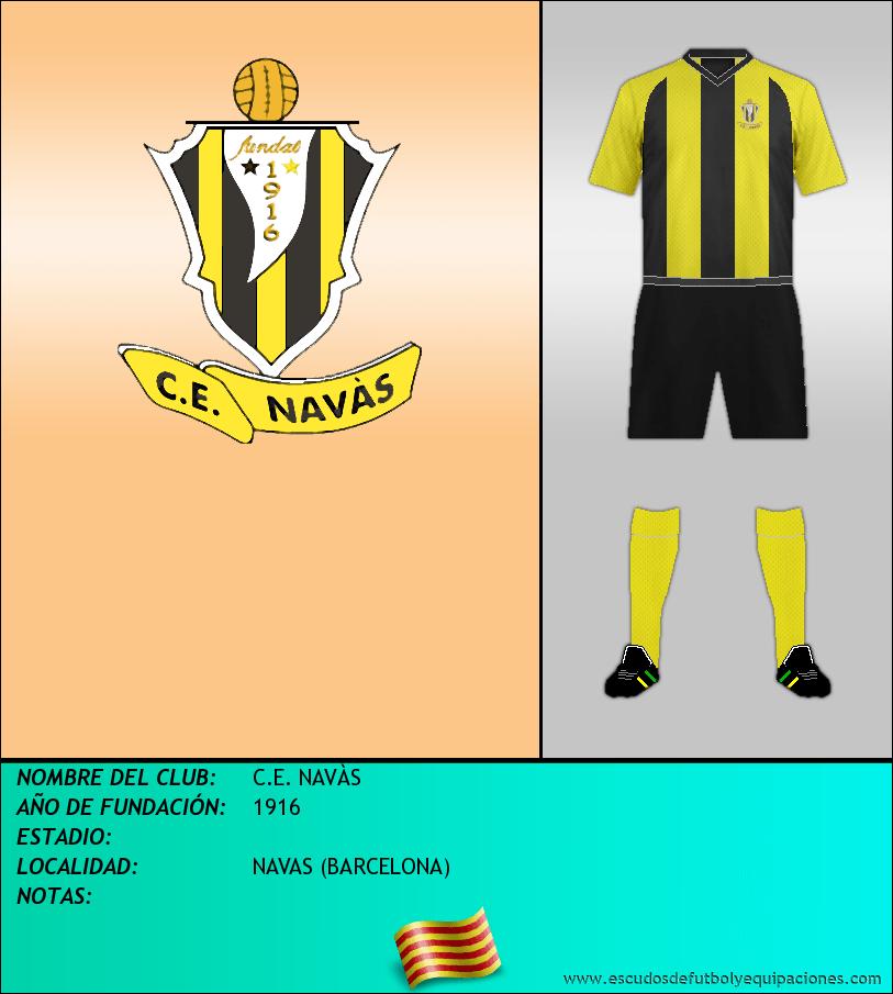 Escudo de C.E. NAVÀS