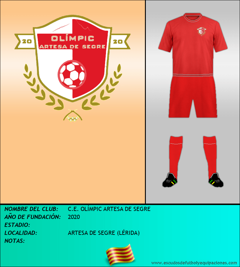 Escudo de C.E. OLÍMPIC ARTESA DE SEGRE