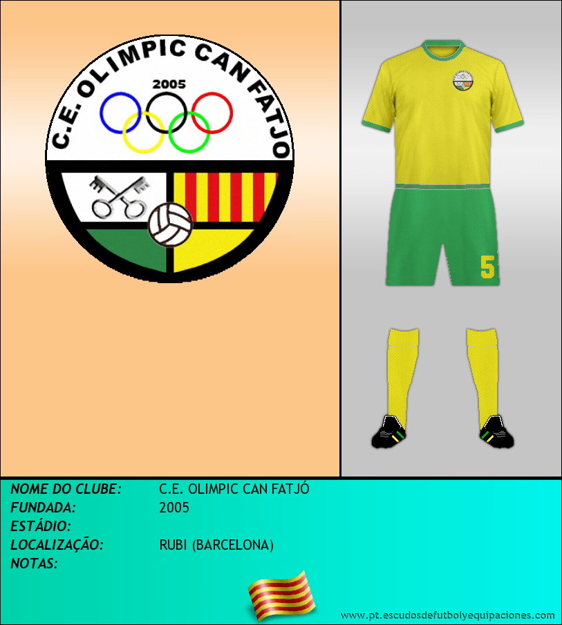 Escudo de C.E. OLIMPIC CAN FATJÓ