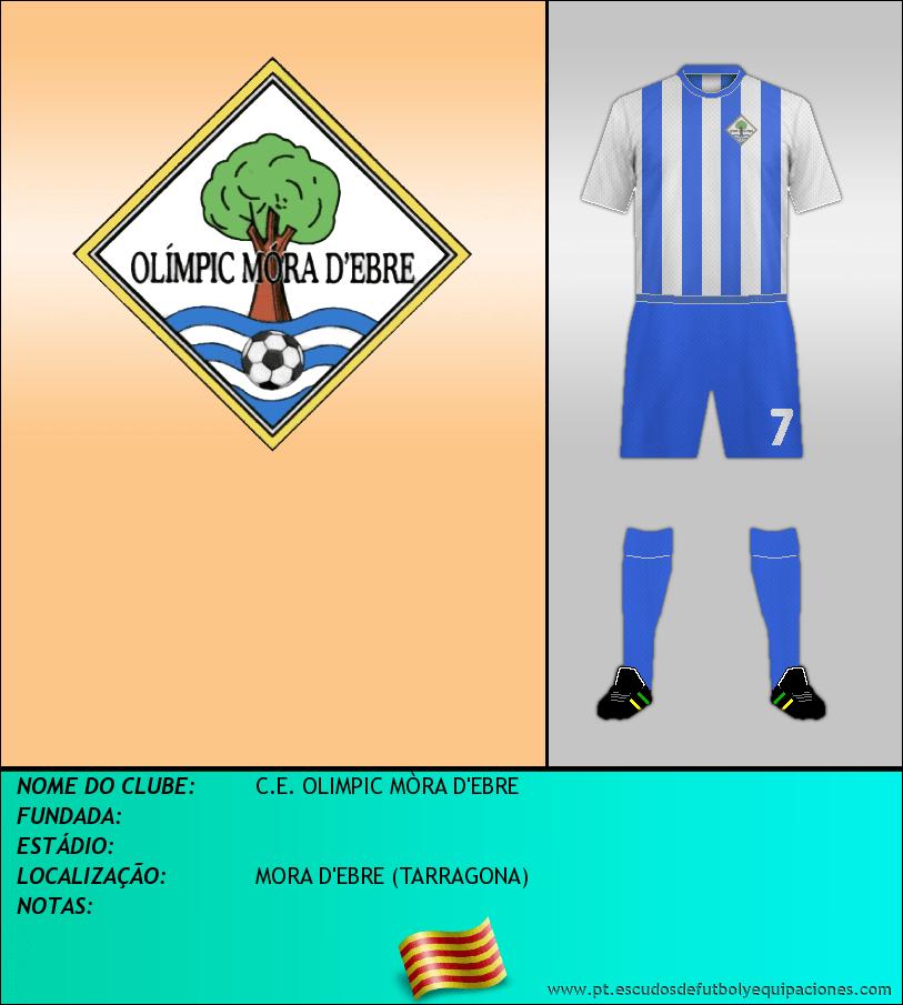 Escudo de C.E. OLIMPIC MÒRA D'EBRE