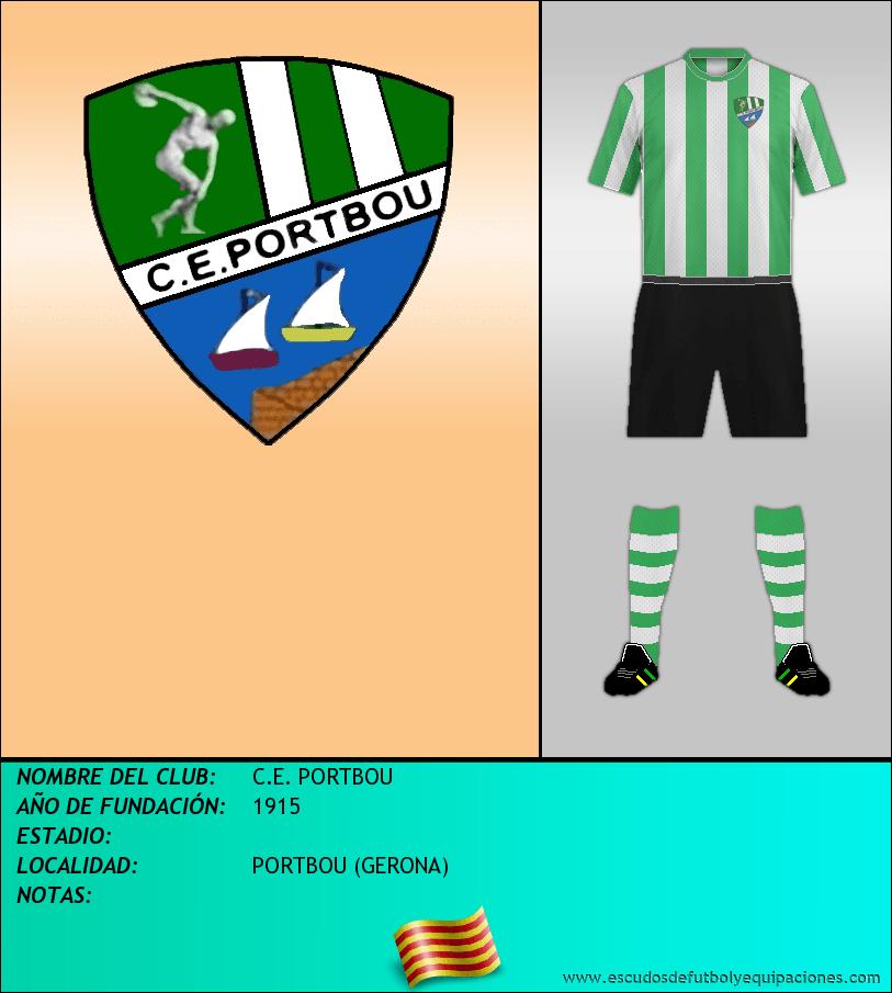 Escudo de C.E. PORTBOU