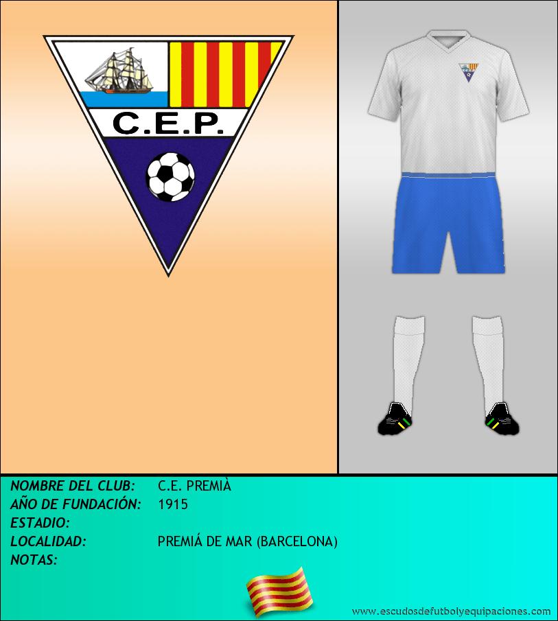 Escudo de C.E. PREMIÀ