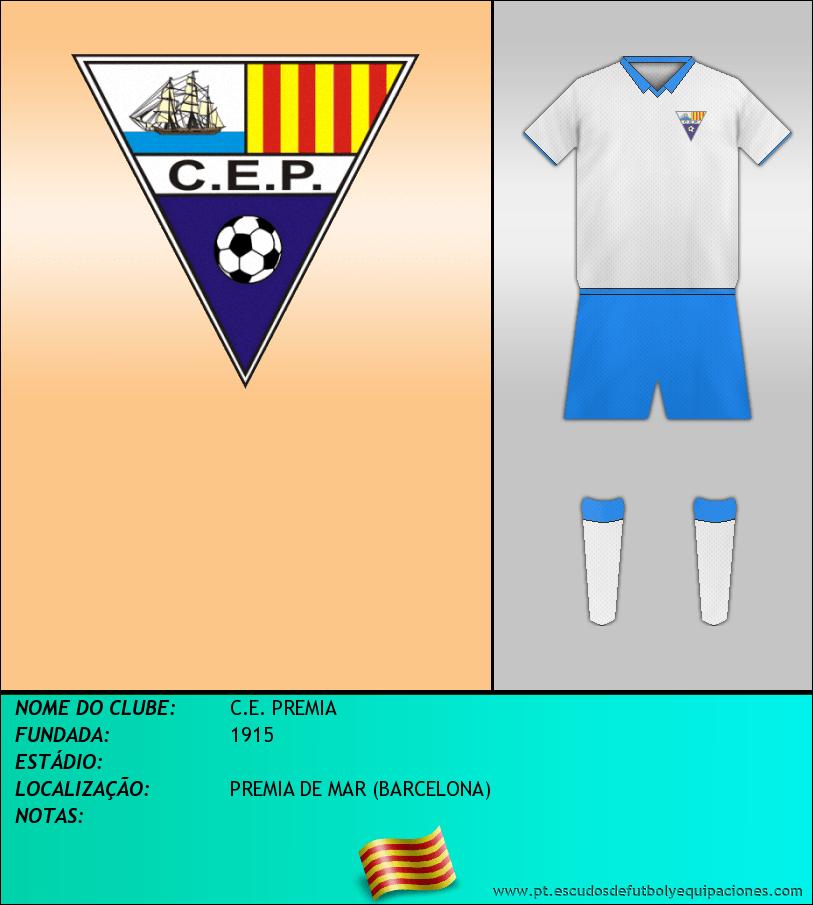 Escudo de C.E. PREMIA