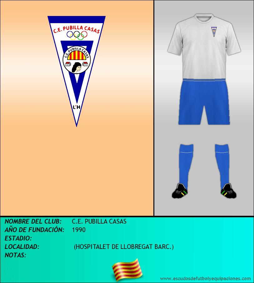 Escudo de C.E. PUBILLA CASAS