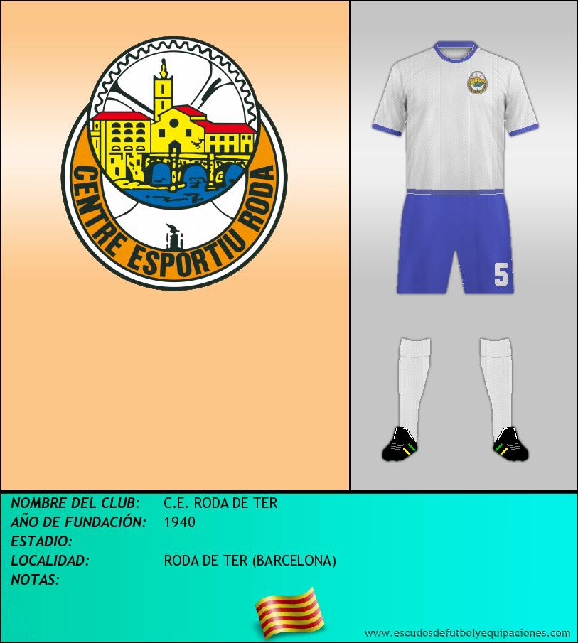 Escudo de C.E. RODA DE TER