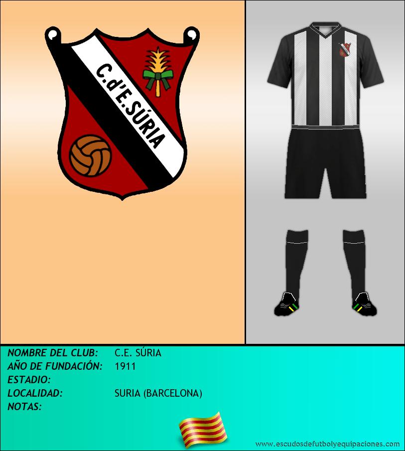 Escudo de C.E. SÚRIA
