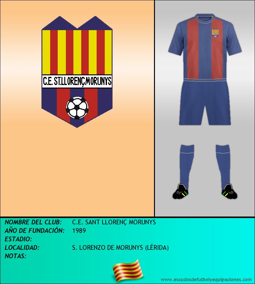 Escudo de C.E. SANT LLORENÇ MORUNYS