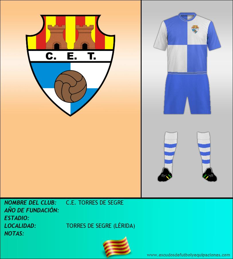 Escudo de C.E. TORRES DE SEGRE