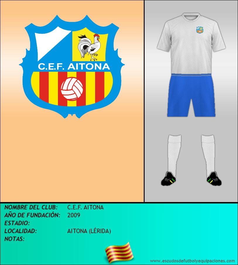 Escudo de C.E.F. AITONA
