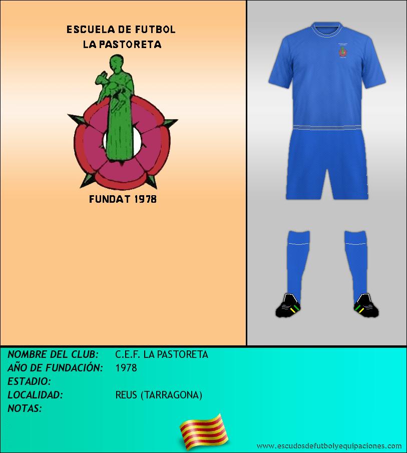 Escudo de C.E.F. LA PASTORETA