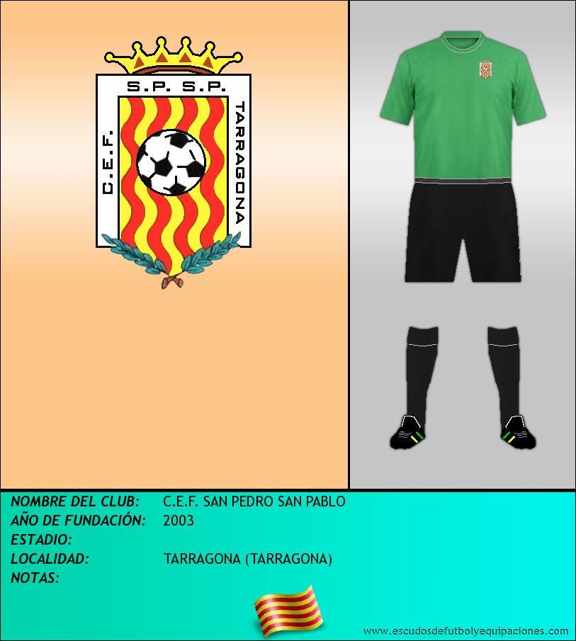 Escudo de C.E.F. SAN PEDRO SAN PABLO