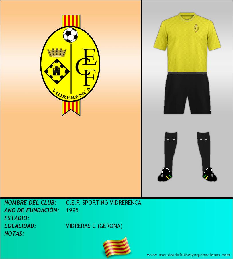 Escudo de C.E.F. SPORTING VIDRERENCA
