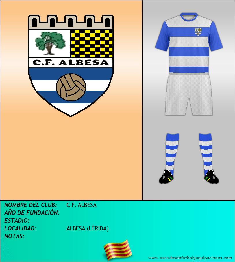 Escudo de C.F. ALBESA
