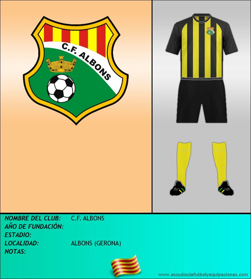 Escudo de C.F. ALBONS