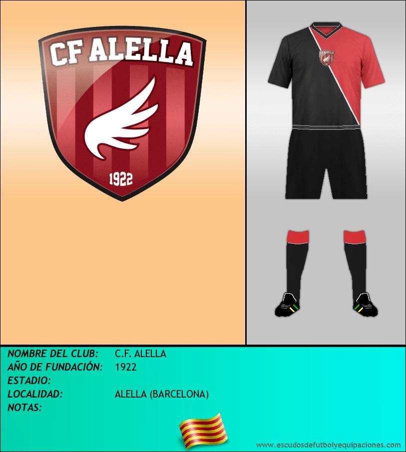 Escudo de C.F. ALELLA
