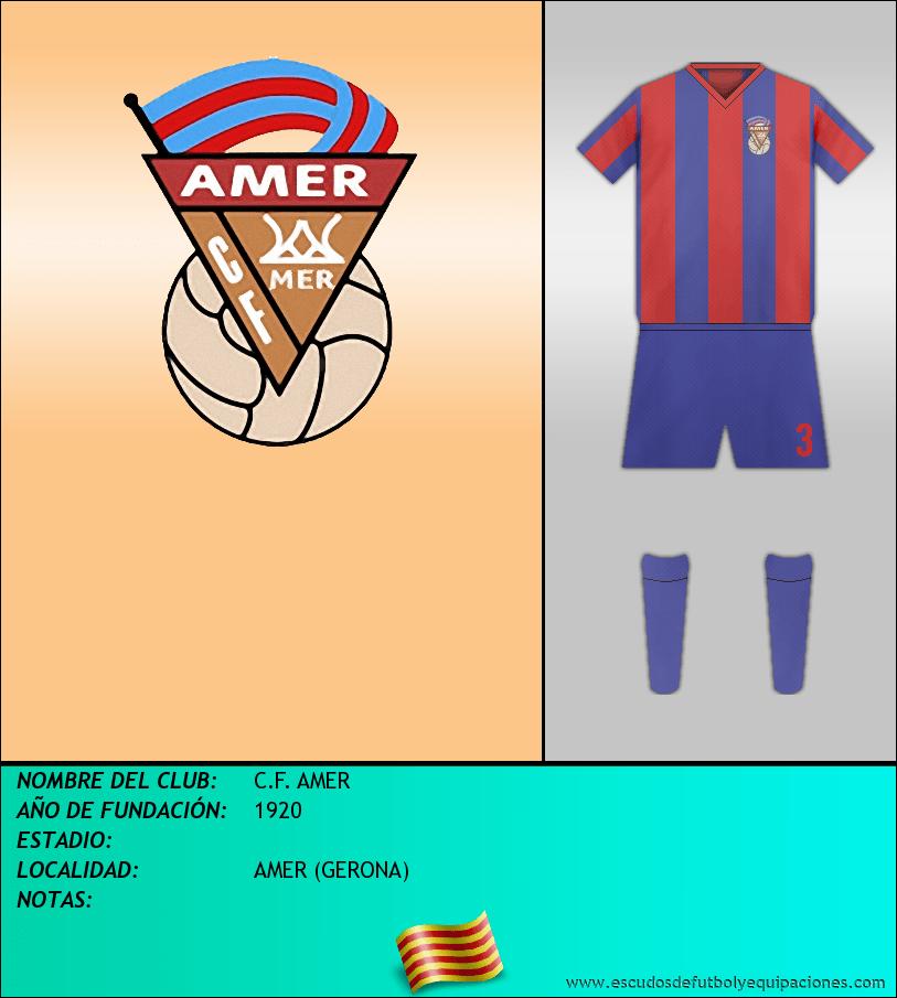 Escudo de C.F. AMER