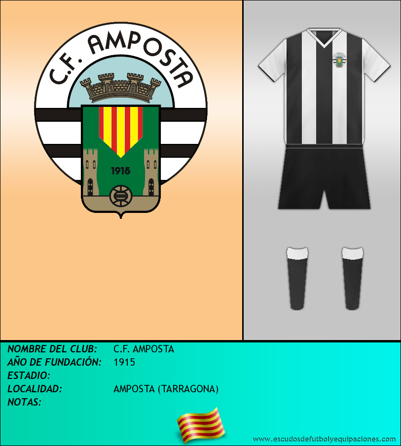 Escudo de C.F. AMPOSTA