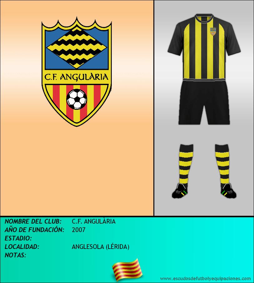 Escudo de C.F. ANGULÀRIA