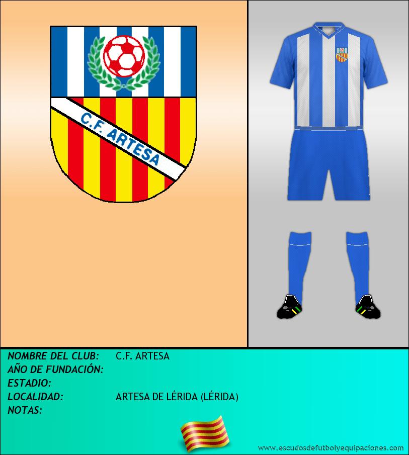 Escudo de C.F. ARTESA