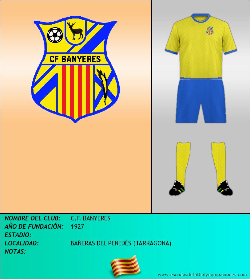 Escudo de C.F. BANYERES