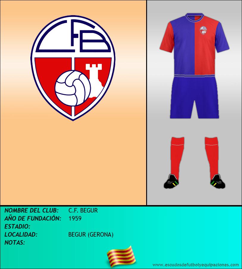 Escudo de C.F. BEGUR
