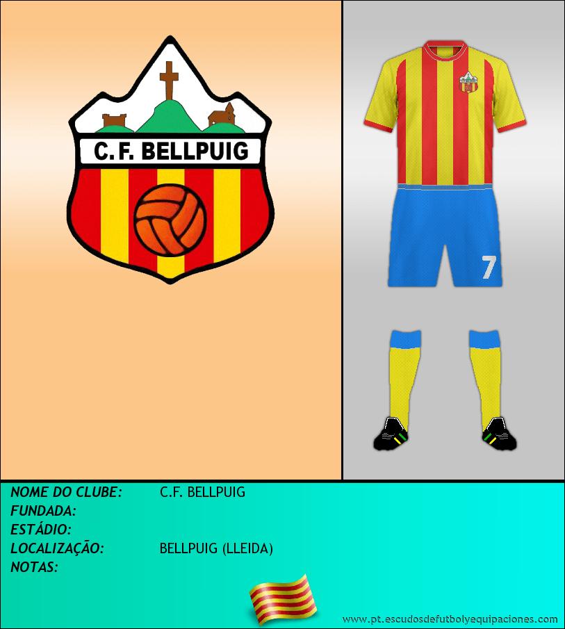Escudo de C.F. BELLPUIG