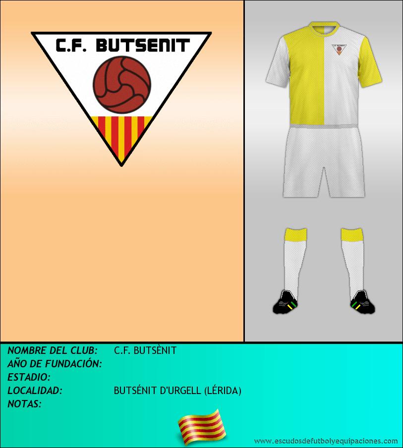 Escudo de C.F. BUTSÈNIT