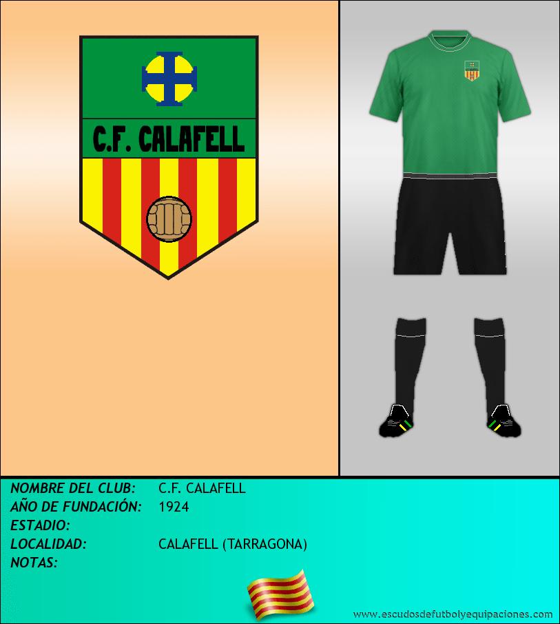 Escudo de C.F. CALAFELL