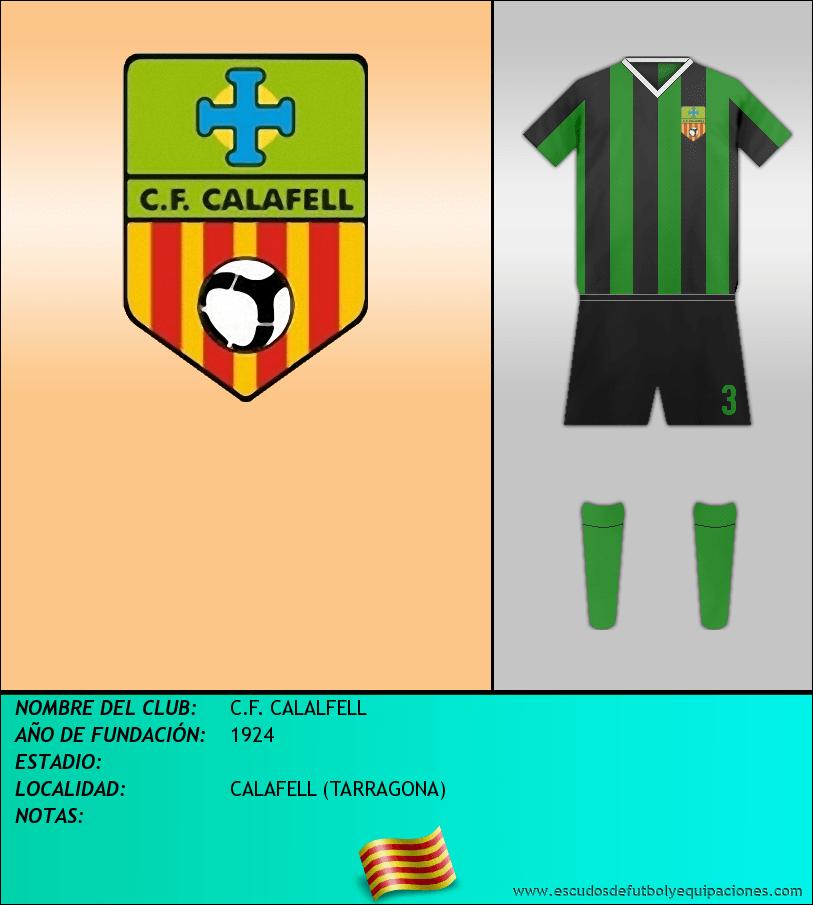 Escudo de C.F. CALALFELL