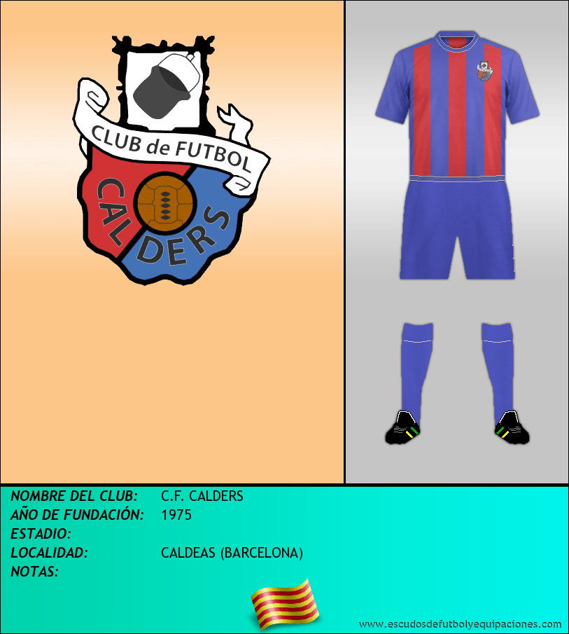 Escudo de C.F. CALDERS