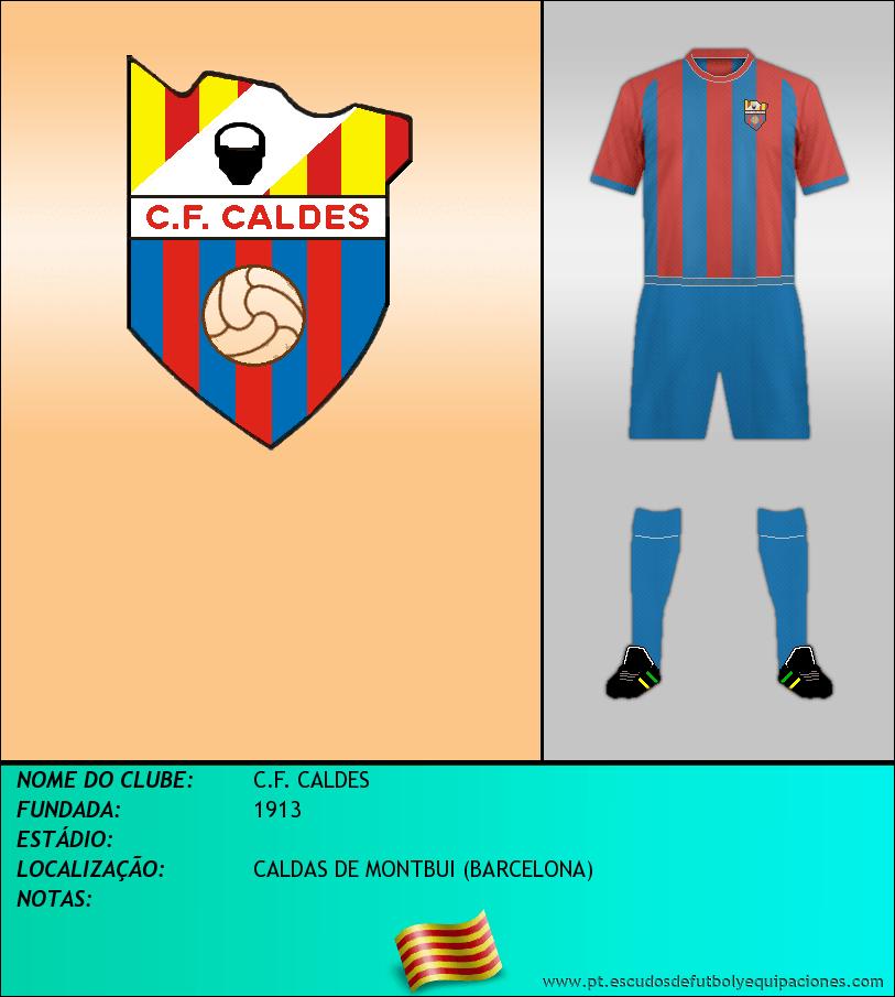 Escudo de C.F. CALDES