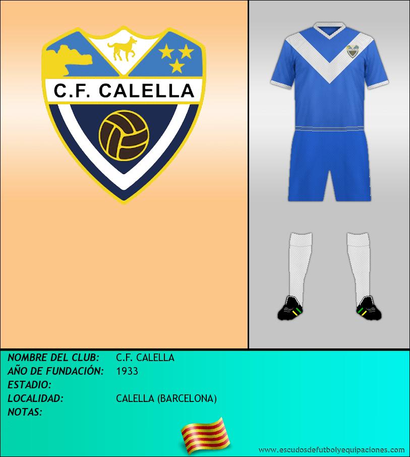 Escudo de C.F. CALELLA