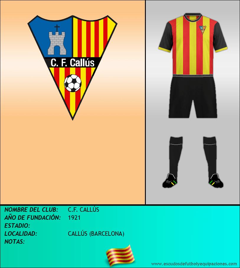 Escudo de C.F. CALLÚS
