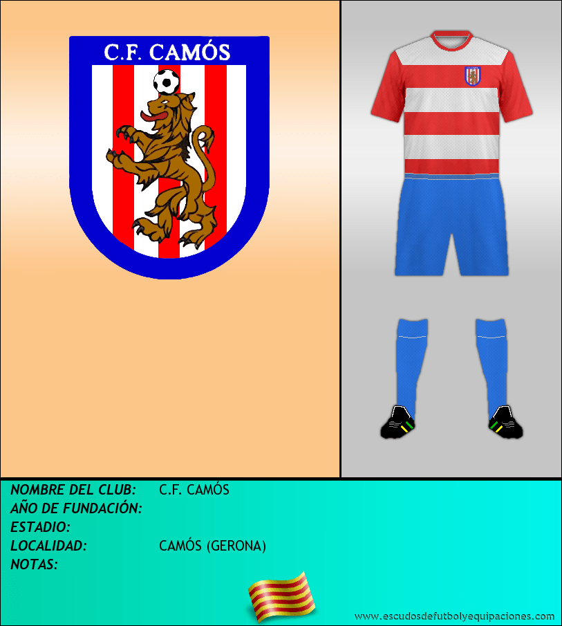 Escudo de C.F. CAMÓS