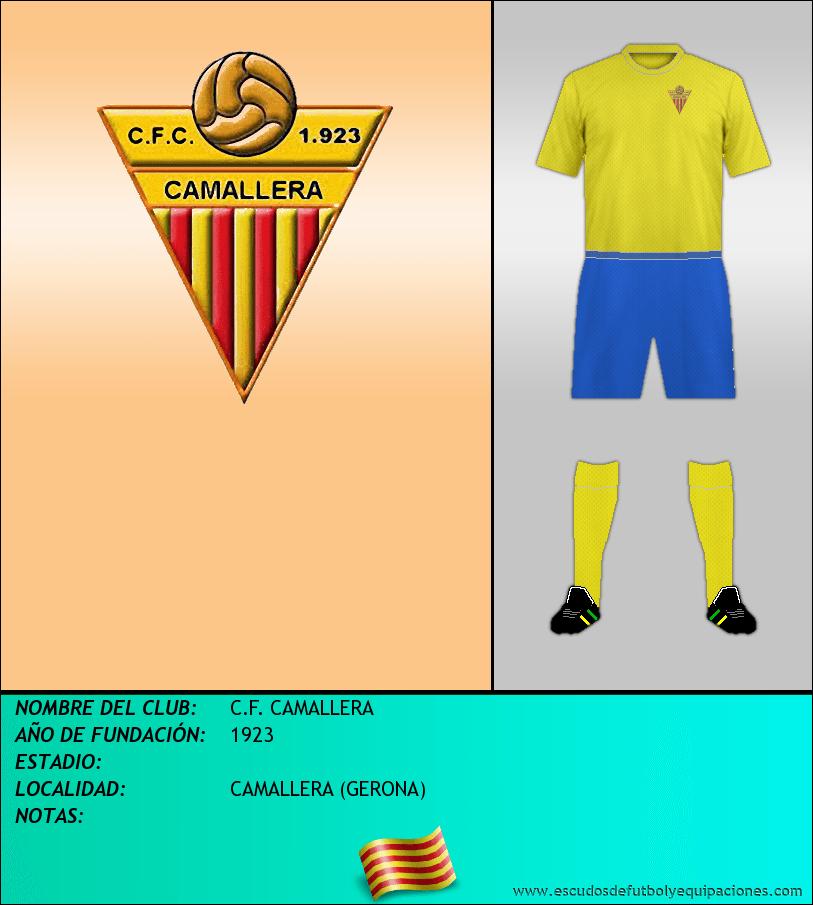Escudo de C.F. CAMALLERA