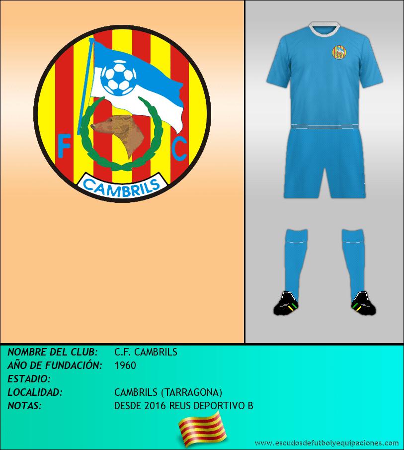 Escudo de C.F. CAMBRILS
