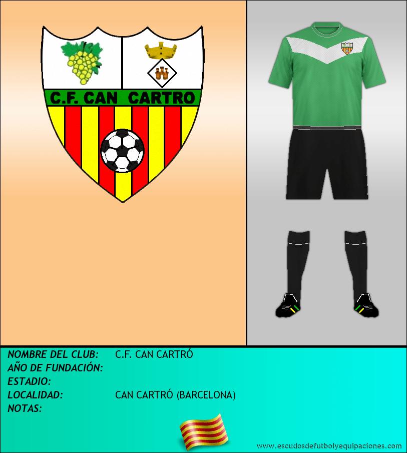 Escudo de C.F. CAN CARTRÓ