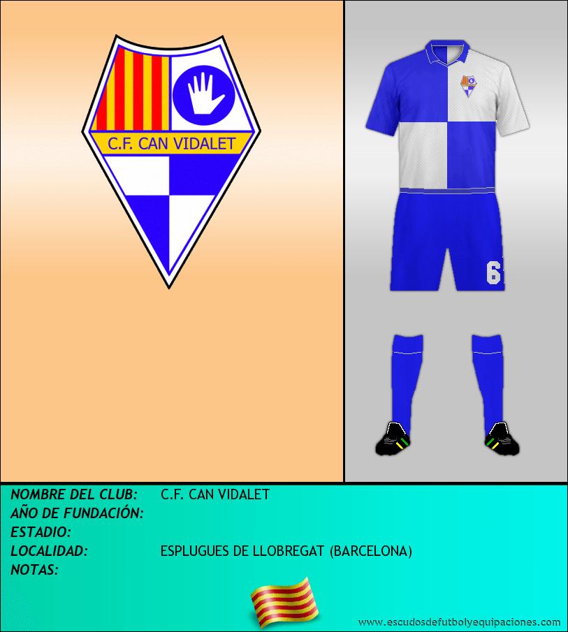 Escudo de C.F. CAN VIDALET