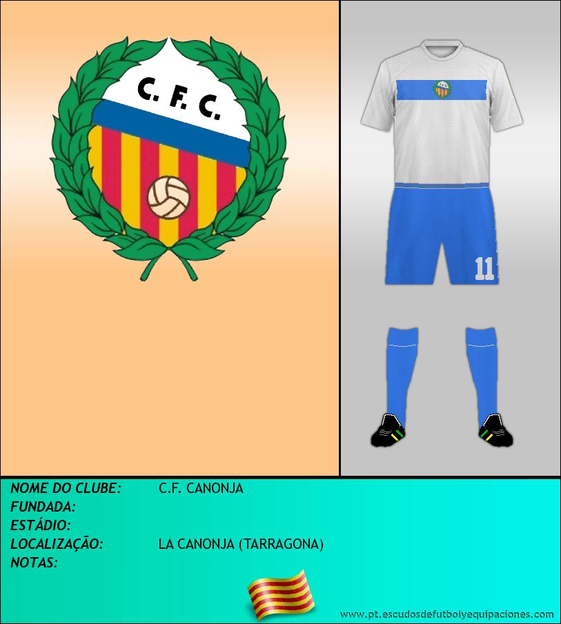 Escudo de C.F. CANONJA