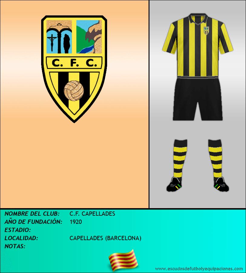 Escudo de C.F. CAPELLADES