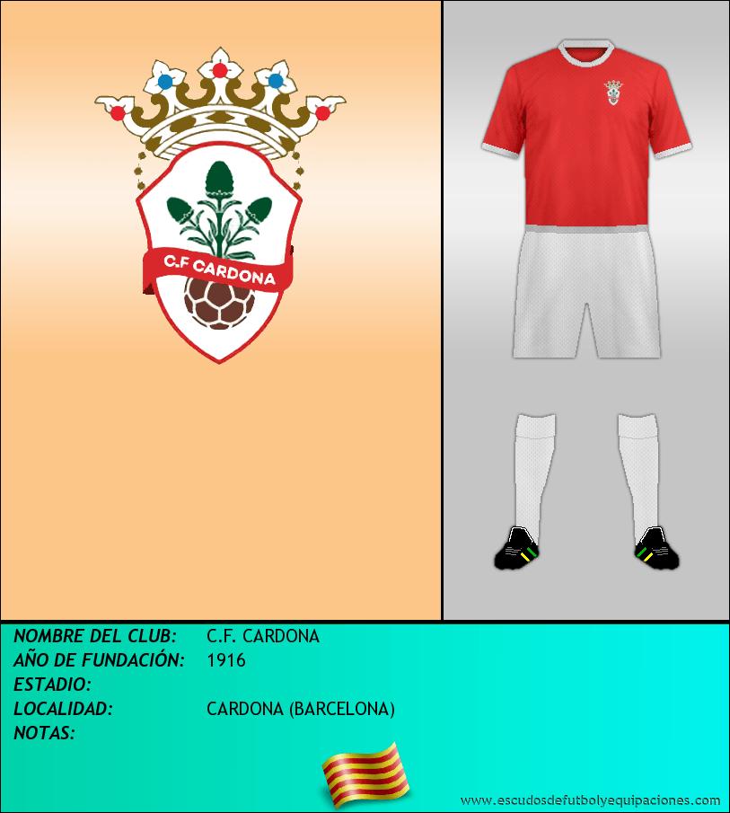 Escudo de C.F. CARDONA