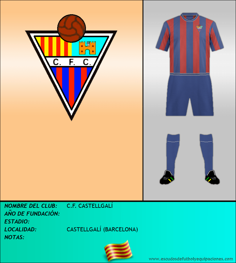 Escudo de C.F. CASTELLGALÍ