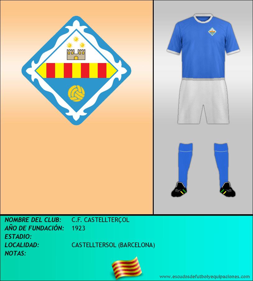 Escudo de C.F. CASTELLTERÇOL