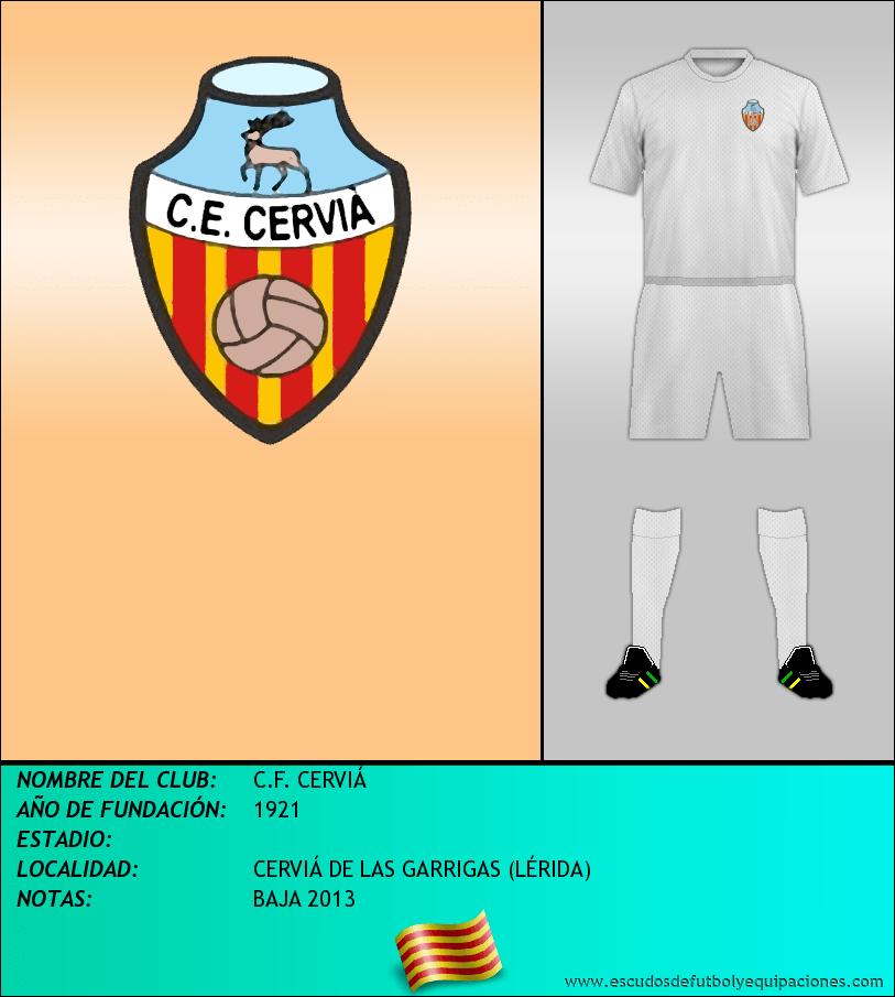 Escudo de C.F. CERVIÁ