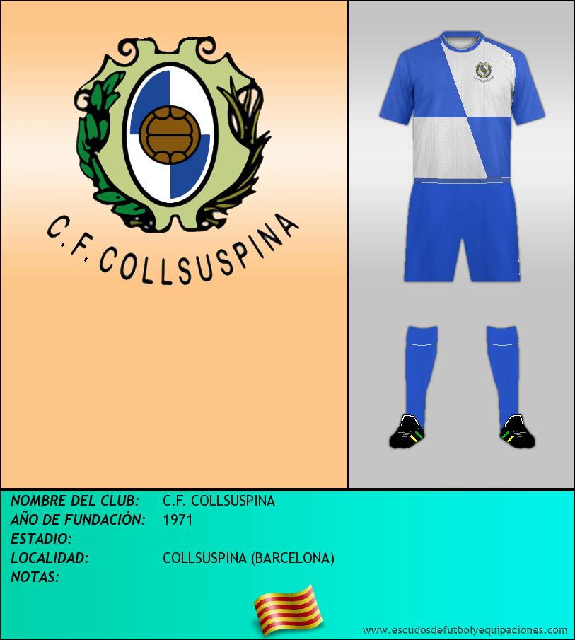 Escudo de C.F. COLLSUSPINA