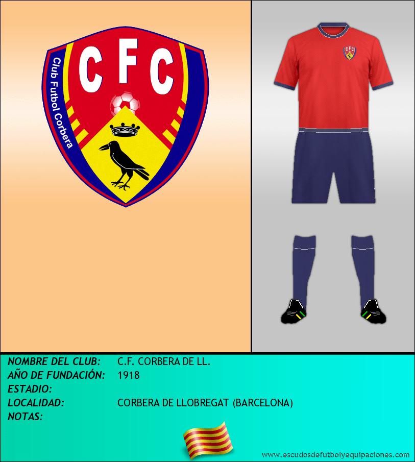 Escudo de C.F. CORBERA DE LL.