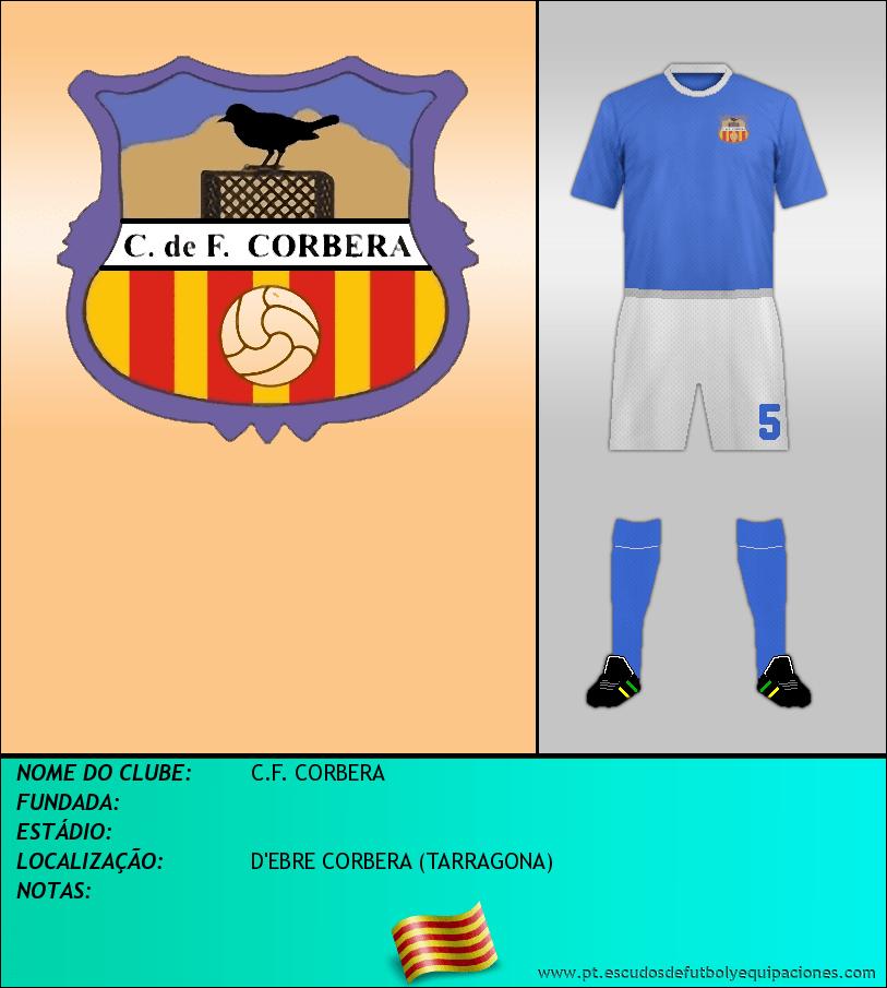 Escudo de C.F. CORBERA
