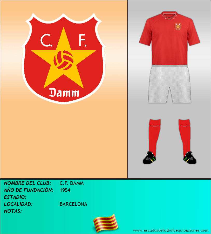 Escudo de C.F. DAMM