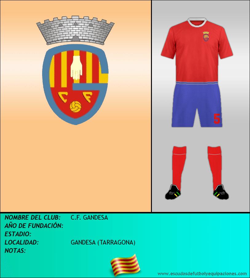 Escudo de C.F. GANDESA
