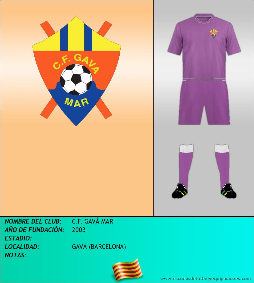 Escudo de C.F. GAVÁ MAR